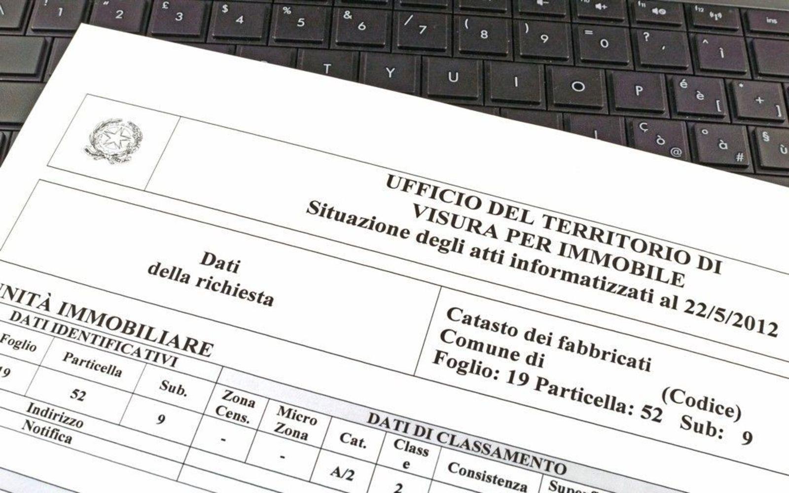 Consultazione gratuita dei dati catastali degli immobili di propriet - Classificazioni catastali immobili ...